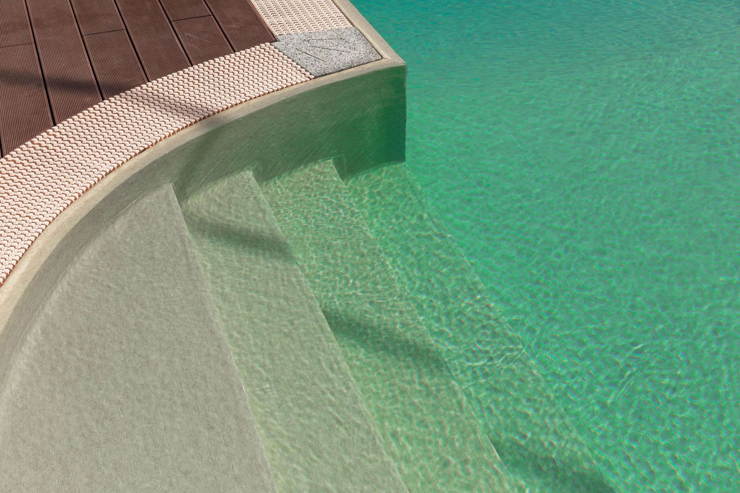 ingresso piscina